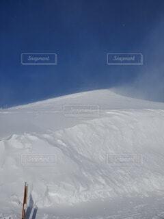 風と雪の写真・画像素材[4529496]