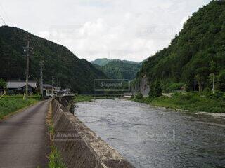 山と川の写真・画像素材[4529631]