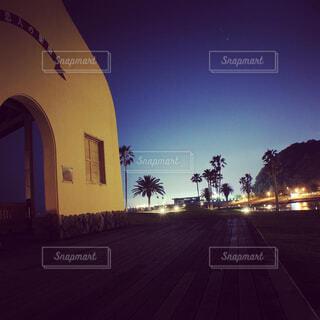 別府田ノ浦ビーチの夜景ですの写真・画像素材[4537658]
