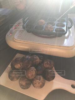 食べ物のクローズアップの写真・画像素材[4547369]