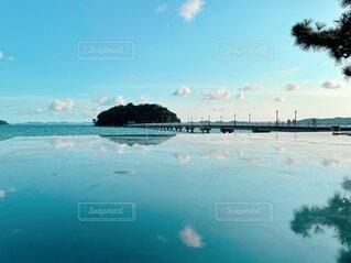 自然,海,空,屋外,湖,ビーチ,雲,船,水面