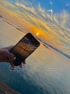 夕日の写真・画像素材[4541727]