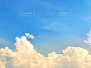 夏の空の写真・画像素材[4676727]