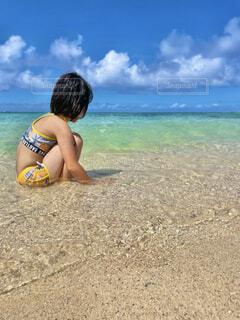 奄美大島の海の写真・画像素材[4706873]