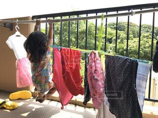 洗濯日和の写真・画像素材[4553876]