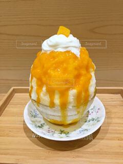 真夏に食べたいかき氷の写真・画像素材[4568624]