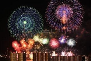 琵琶湖花火大会の写真・画像素材[4659977]