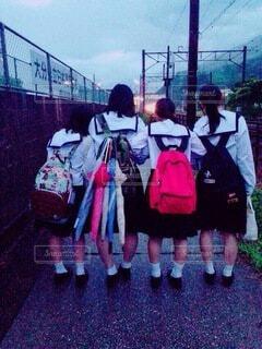 雨の日の写真・画像素材[4638380]