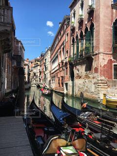 ベネツィアの街角の写真・画像素材[4612947]