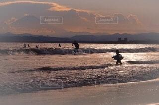夏の海を満喫の写真・画像素材[4664390]