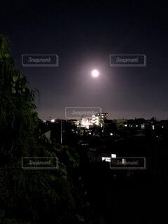 自然,風景,空,夜,屋外,月