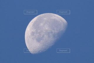 自然,風景,空,青空,月,満月,月面