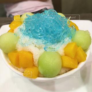 デザート,フルーツ,果物,メロン,フィリピン,かき氷,マニラ,寒天