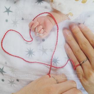 赤ちゃんの手の写真・画像素材[748574]