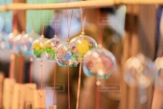 ガラスの風鈴の写真・画像素材[4688083]