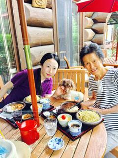 犬,ランチ,親子,蕎麦,お昼ご飯,高原ランチ