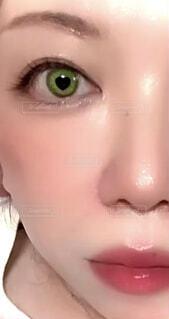 屋内,口紅,人物,人,顔,目,リップ,化粧品,まつげ,眉,人間の顔