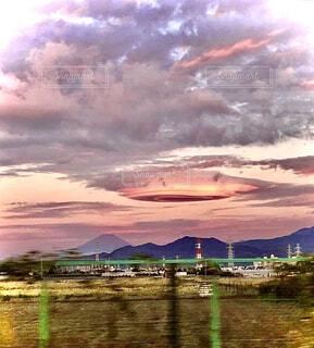 自然,風景,空,屋外,湖,雲,夕暮れ,水面,山,樹木