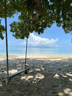 自然,風景,海,空,屋外,ビーチ,雲,水面,海岸,樹木,夏休み,離島
