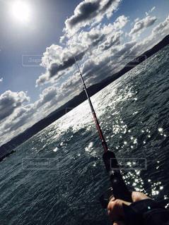 海,太陽,釣り,休日