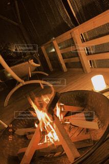アウトドア,屋内,椅子,焚き火,焚火