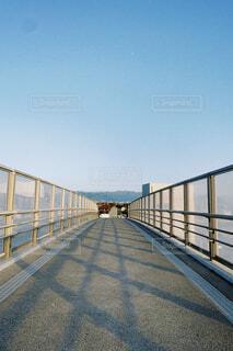 風景,空,橋,屋外,水面,フェンス,桟橋