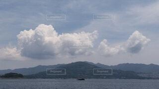 自然,風景,空,屋外,湖,雲,船,水面,山