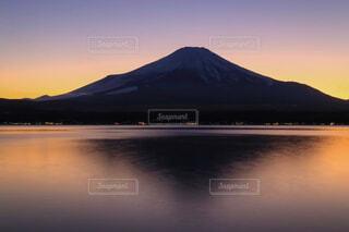 自然,風景,空,屋外,湖,雲,夕暮れ,水面,山,日の出