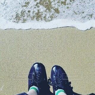 海,屋外,浜辺,履物,ブート