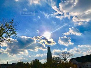 冬の空の写真・画像素材[4616762]
