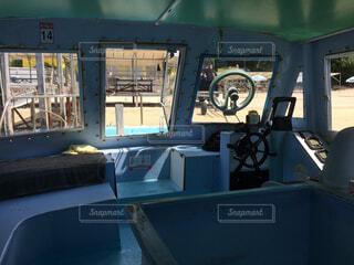 海,晴れ,晴天,船内,機械