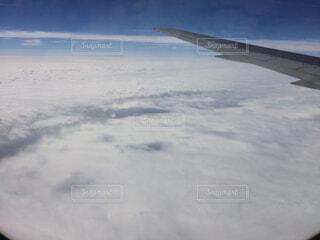 自然,空,雪,屋外,雲,飛行機,飛ぶ,空中,航空機