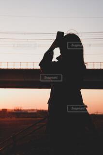 夕焼けの写真・画像素材[4836183]