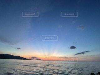 自然,風景,海,空,ビーチ,雲,夕暮れ,水面,海岸