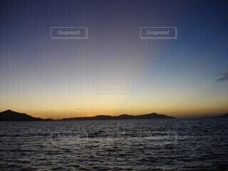 自然,風景,海,空,屋外,太陽,ビーチ,雲,夕暮れ,水面,海岸,穏やか