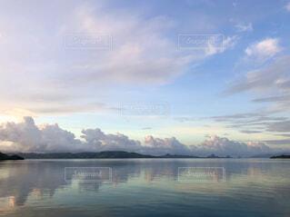 自然,風景,海,空,夏,雲,青