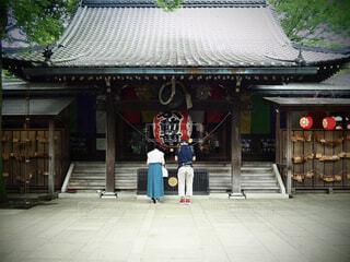 風景,建物,神社,人物,人,寺,仏教,履物