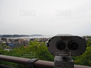 風景,空,カメラ,屋外,景色,望遠鏡,長谷寺,光学機器