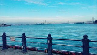 空,屋外,湖,ビーチ,雲,青空,海辺,船,水面,港,横浜,みなとみらい,眺め