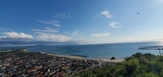 自然,海,屋外,ビーチ,綺麗,青い海,青い空,水面,水平線,浜辺,出雲,稲佐の浜,神話,白い砂浜