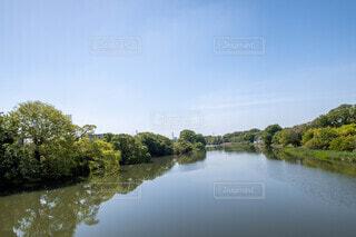 自然,風景,空,屋外,湖,雲,川,水面,池,樹木,草木