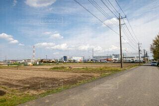 #景色,#青空,#草原