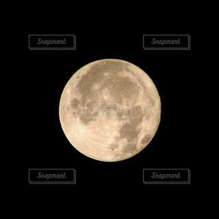 空,黒,月,満月,天文学
