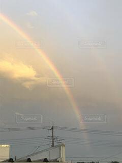 自然,空,屋外,雲,虹