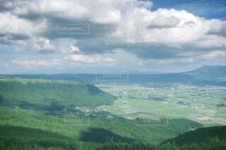 自然,風景,空,屋外,緑,雲,青空,青,山,丘