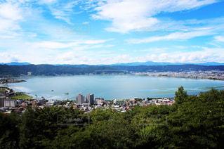 諏訪湖の写真・画像素材[943269]