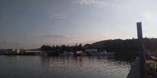 空,湖,雲,ボート,川,水面,山,景色,樹木,車両,水上バイク