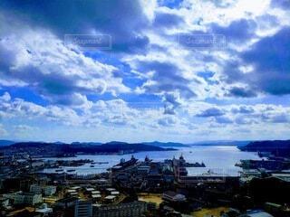 風景,空,屋外,湖,雲,船,水面,街