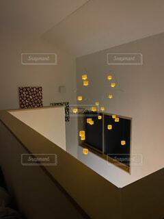 屋内,アート,ランタン,光,壁,癒し,デザイン,モビール,癒しの空間,家の中にラプンツェルの世界