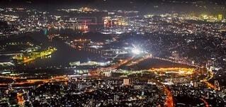 風景,空,建物,夜,都市,タワー,都会,高層ビル,明るい,パノラマ,スカイライン